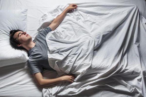 Дергается нога во сне